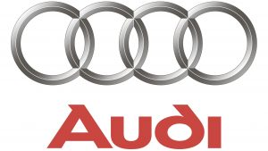 this is an audi car maker logo